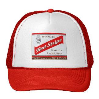 Red Stripe Cap
