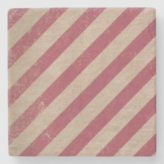 red stripe holiday candy cane christmas coaster