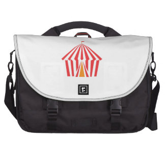 Red Stripe Tent Bag For Laptop