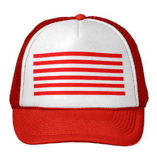 Red Striped Cap