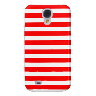 Red Striped Galaxy S4 Case