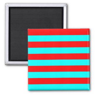 Red Striped Magnet