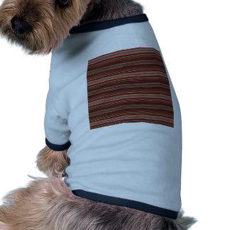 Red Stripes Doggie Tee Shirt