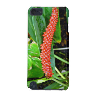 Red studded flower iPod touch 5G case