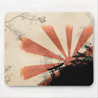 Red Sun Mousepad
