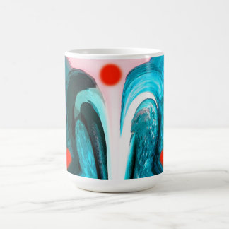 Red sun mug