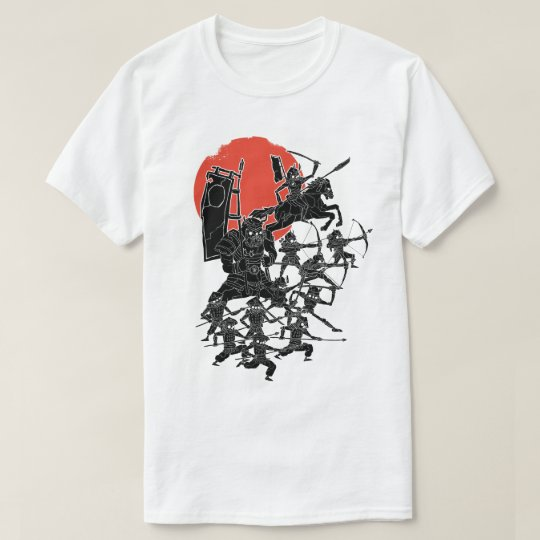 Red Sun Samurai T-Shirt