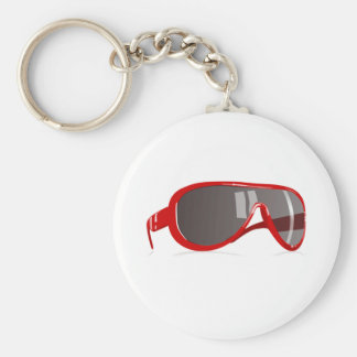 Red Sunglasses Keychains