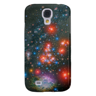 Red Super Giant Cluster Galaxy S4 Case