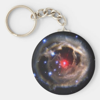 Red Super Giant Star Keychain