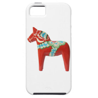 Red Swedish Dala Horse iPhone 5 Cases