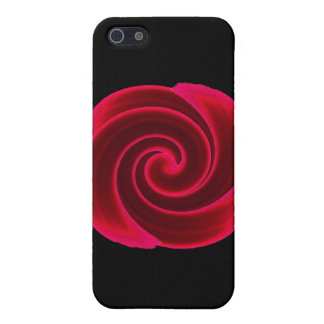 Red Swirl Blood Flower Case For The iPhone 5