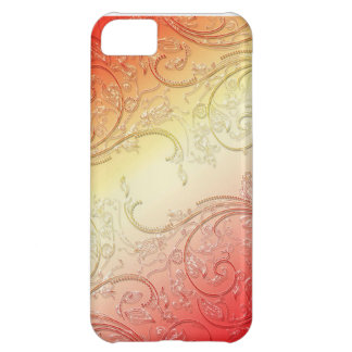 red swirl case