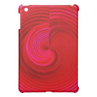 Red Swirl iPad Mini Covers