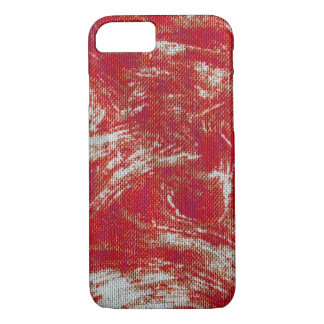 Red Swirl iPhone 8/7 Case