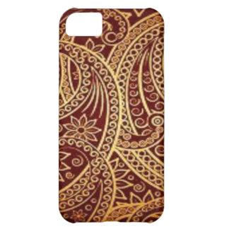 red swirl pattern iPhone 5C case