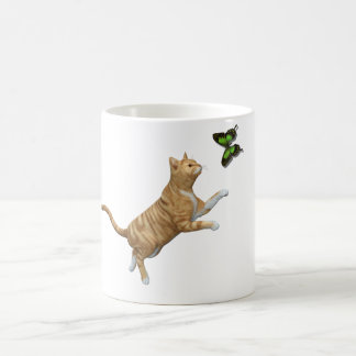 Red Tabby Cat Coffee Mug