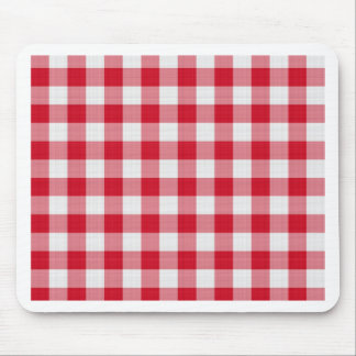 red table cloth mouse mat