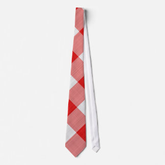 red table cloth tie