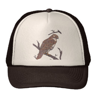 red tail hawk cap