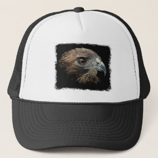 Red-tail Hawk pastel Trucker Hat