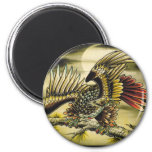 """""""Red Tail Hawk"""" Refrigerator Magnets"""