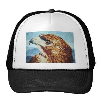 Red-tail Hawk textile Cap