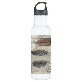 Red Tail Hawk water bottle