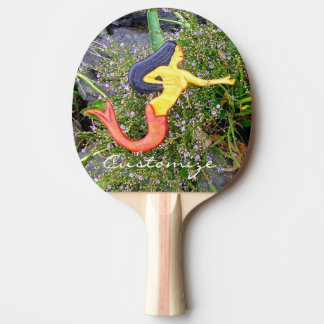 red-tail sirena mermaid ping pong paddle