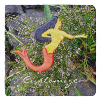 red-tail sirena mermaid trivet