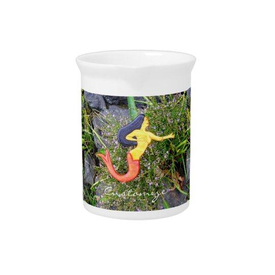 red-tail sirena mermaids beverage pitcher