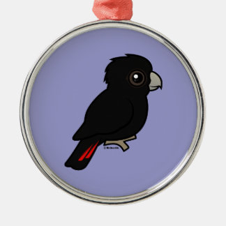 Red-tailed Black Cockatoo Christmas Ornament
