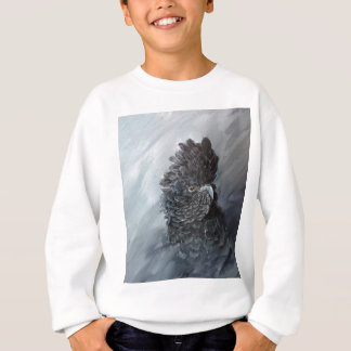 Red Tailed black Cockatoo gifts Sweatshirt