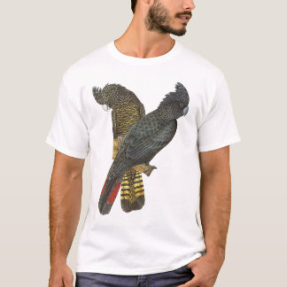 Red-tailed Black Cockatoo Pair T-Shirt
