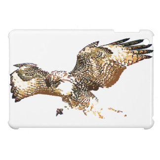 Red Tailed Hawk Bird Raptor Wildlife Animals iPad Mini Cover