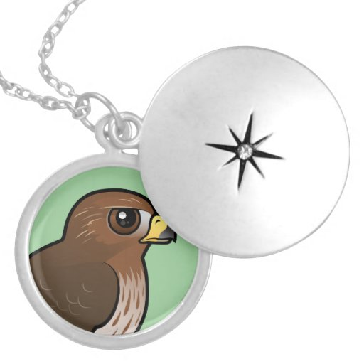Red-tailed Hawk Pendant