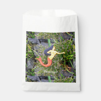 red-tailed sirena mermaid favour bags
