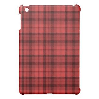 Red Tartan Case iPad Mini Cover