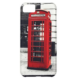 Red Telephone Booth iPhone 5C Covers