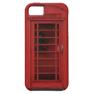Red telephone box iPhone 5 cases