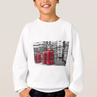 Red Telephone boxes Sweatshirt