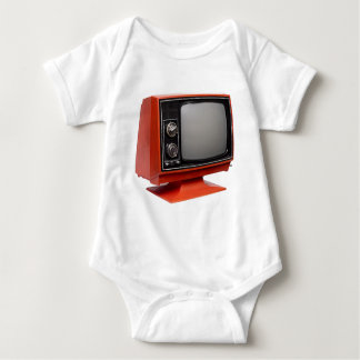 Red television t-shirt