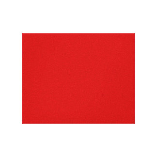 Red Template Canvas Print