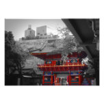 Red Temple Photographic Print