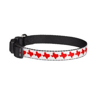 Red Texas Pet Collar
