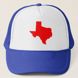 Red Texas Trucker Hat