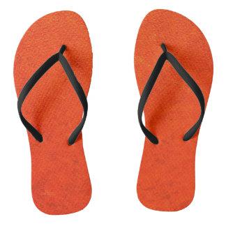 Red Texture Flip Flop Flip Flops