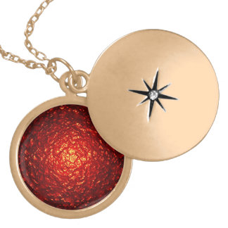 Red Textured Background Pendants