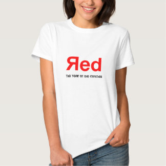 Red, The Year of the Cowbell Tshirts