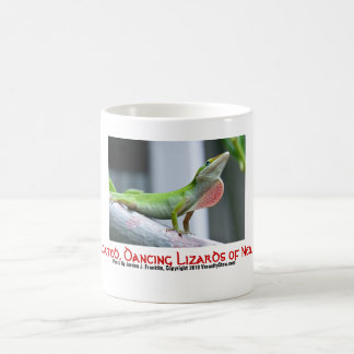 Red-Throated, Dancing Lizards of New Orleans Mug